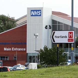 Birmingham Heartlands Hospital is at the centre of a salmonella outbreak