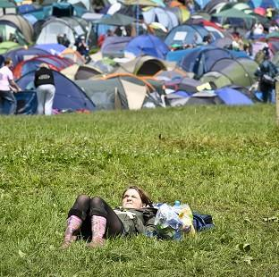Harwich and Manningtree Standard: The sun is set to shine at Glastonbury, according to forecasts