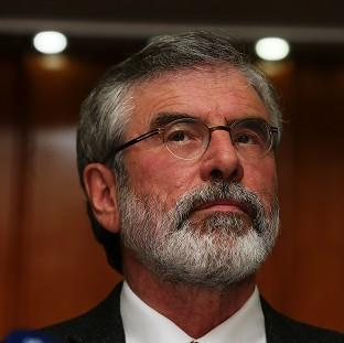 The paramilitary Ulster Freedom Fighters (UFF) opened fire on the car containing Gerry Adams as it travelled from a Belfast court 30 years ago