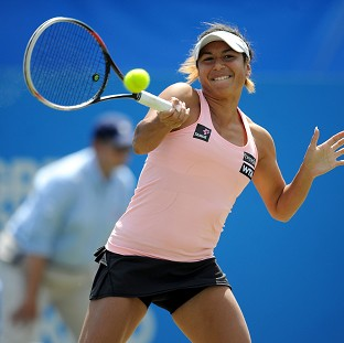 Heather Watson opens her Wimbledon campaign today