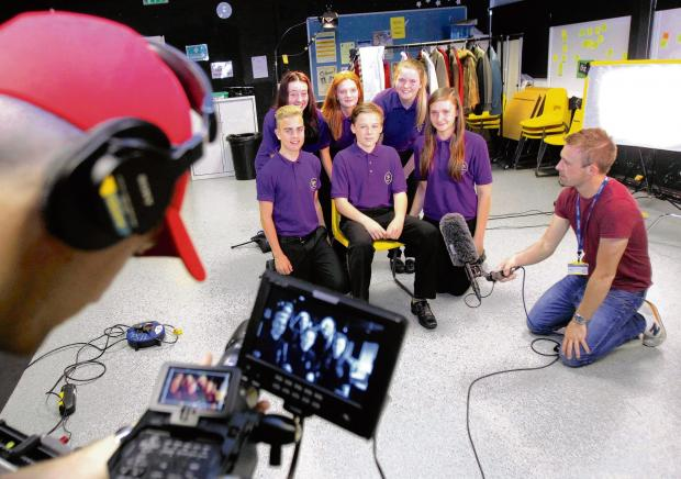Video stars: Young health champions talk to the nation