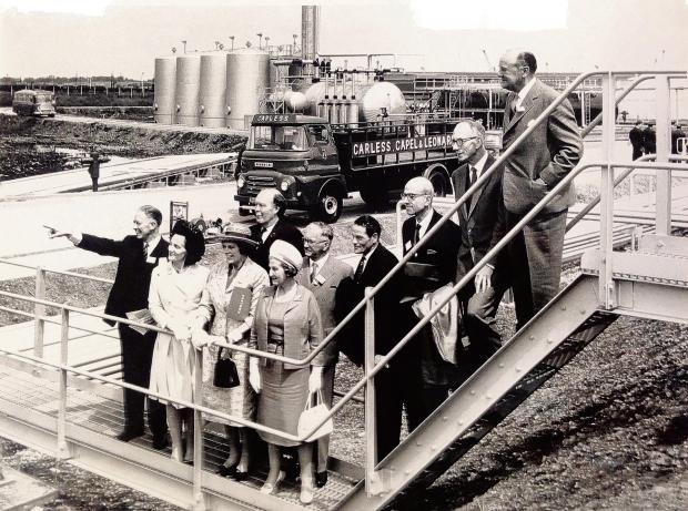 Refinery still going strong half a century after opening
