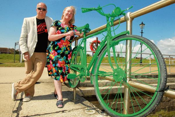 Festival riding high after safe return of one green bike