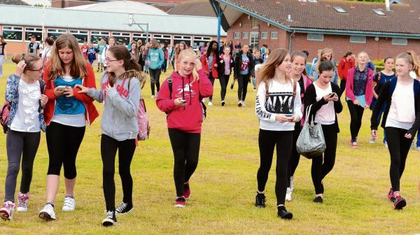 Harwich and Manningtree Standard: Walking to fill school coffers