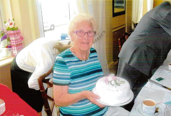 Harwich and Manningtree Standard: Doreen still volunteering at age of 90