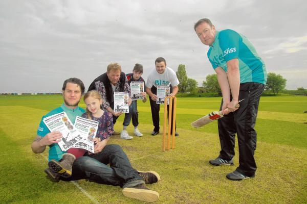 Cricketers gearing up for charity match