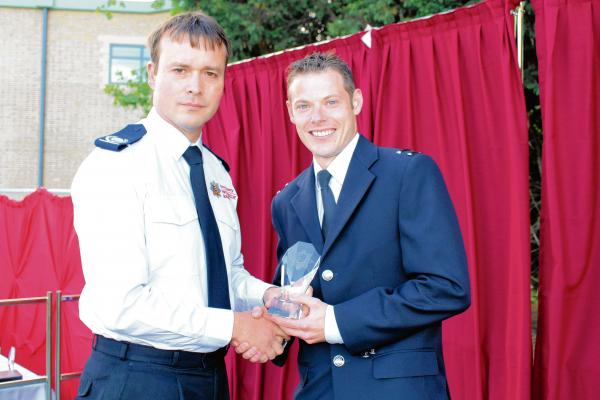 Firefighters recognised for their work