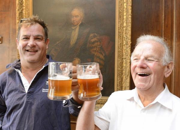 Pints and politics mix with new brew