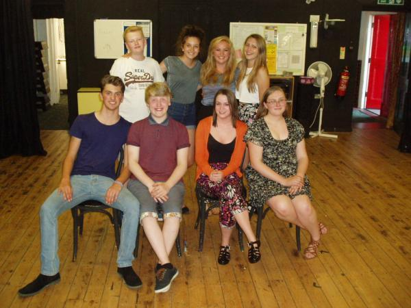 Zigzag theatre group performing four straight plays