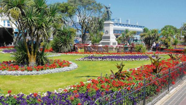 Clacton's newly planted seafront gardens