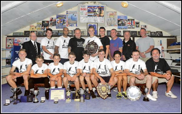 Boxers look back on a year of success