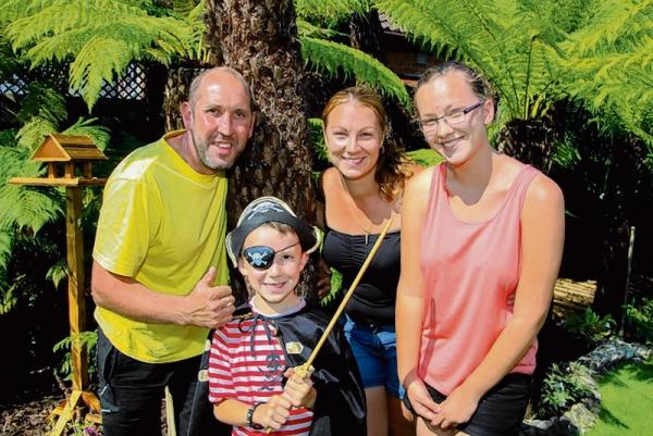 Family opens exotic garden for charity