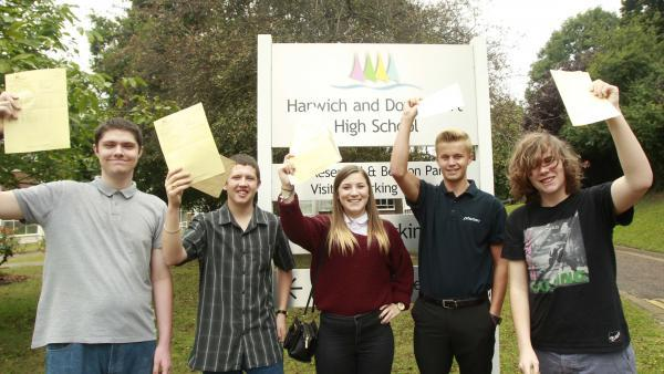 That's a result: A-Level students celebrate passes