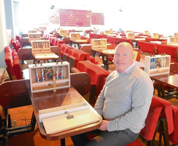 Mike Gibbons is delighted that the former Basement nightclub can be turned into a family entertainment centre. He is pictured in the bingo hall upstairs in the same building.