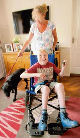 Appeal to help fund lifechanging wheelchair for Callum