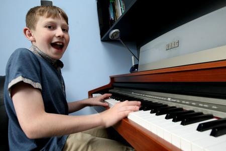 Talented 12-year-old Callum reaches final rounds of national songwriting contest