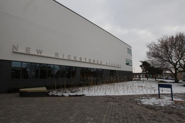 New Rickstones Academy, which the bus service served