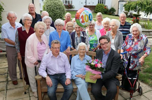 Mistley artist celebrates her 100th birthday