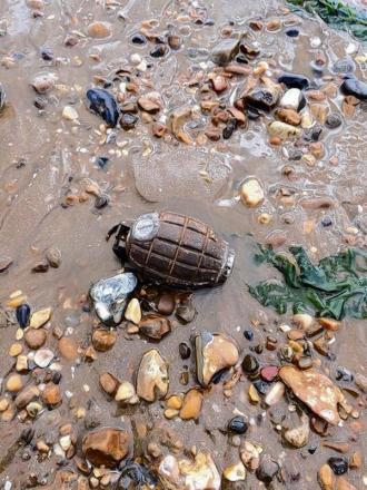 More grenades could wash up in Dovercourt