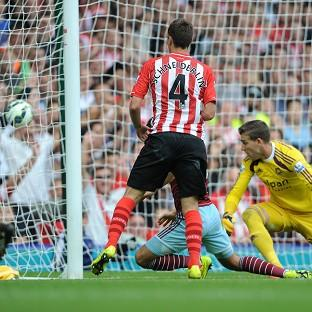 Morgan Schneiderlin scores his
