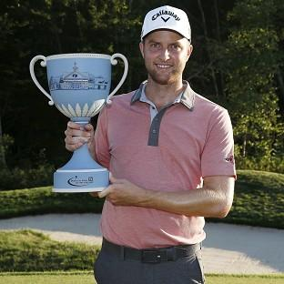 Chris Kirk has won the Deutsche Bank Championship (AP)