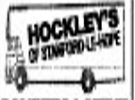 HOCKLEY TRANSPORT (REMOVALS)