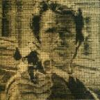 Harwich and Manningtree Standard: Artist creates £10,000 Clint Eastwood mosaic made of bullet cartridges to celebrate the actor's 85th birthday