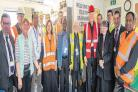 Helping seafarers – Cardinal Nichols meets volunteers and chaplains at the Port of Tilbury