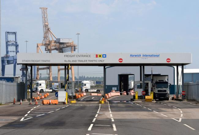 Harwich International Port could become a free port by 2021