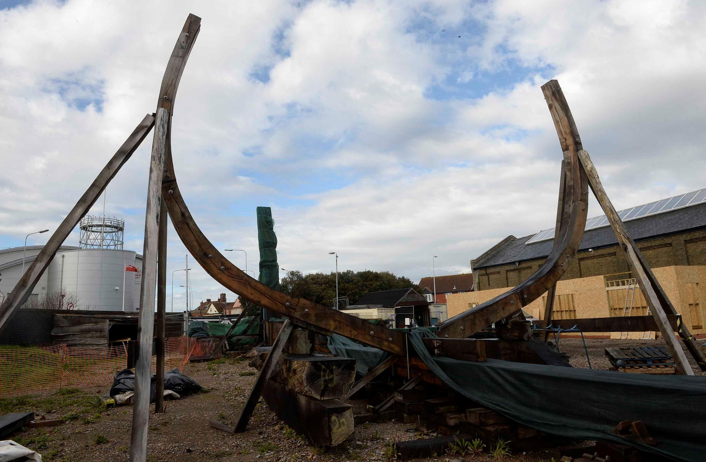 The Harwich Mayflower Project aims to build a full-size ocean-going replica of the English merchant ship that took the Pilgrim Fathers to America in 1620.