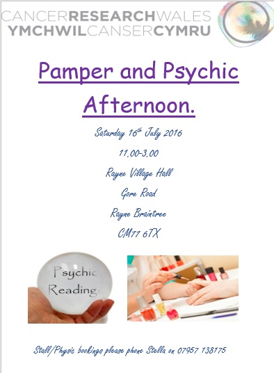 Pamper and Psychic afternoon