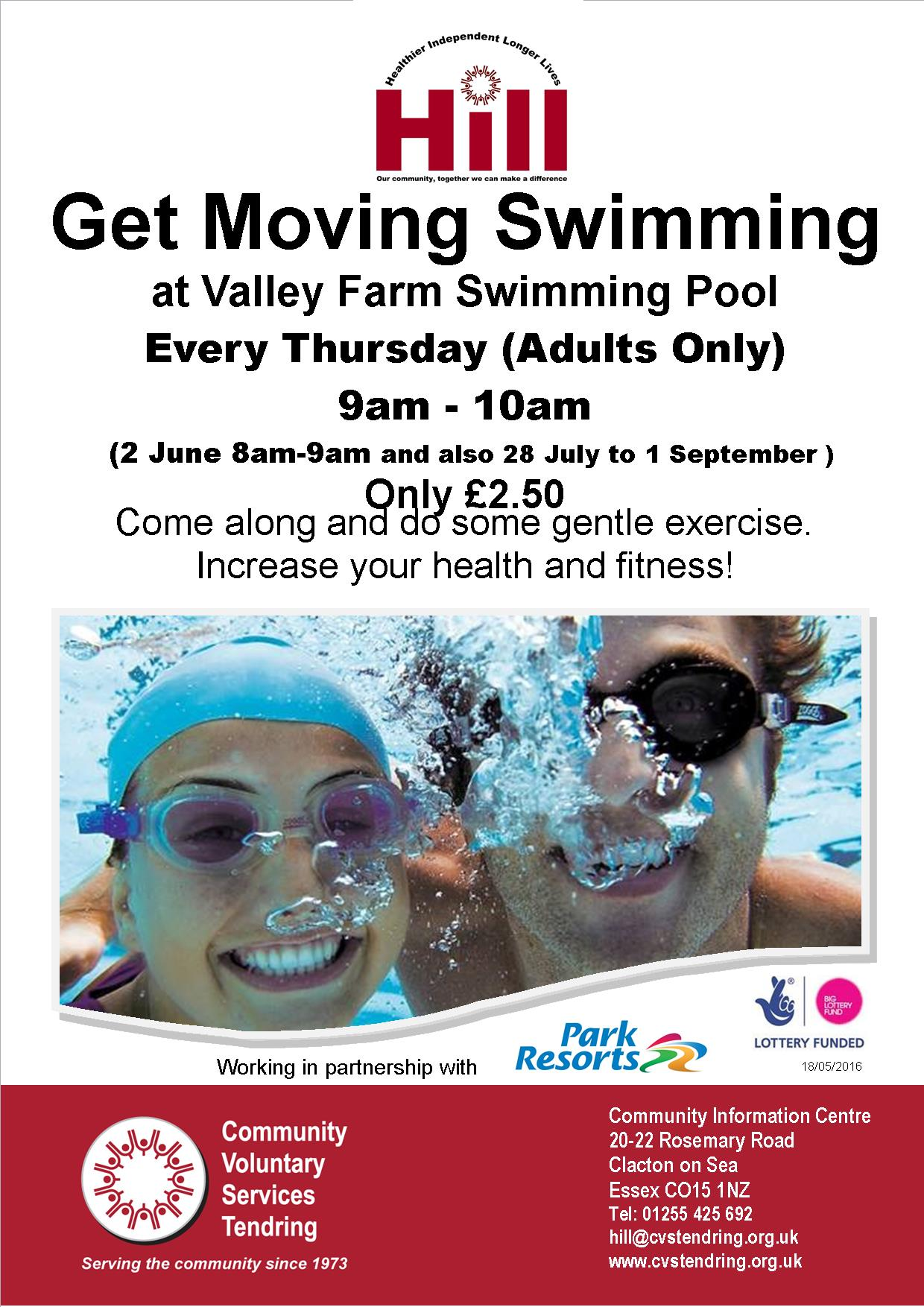 Get Moving Swimming Group
