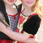 Harwich and Manningtree Standard: Great Bentley Carnival on Saturday.Daisy Rason and Isla Newton..