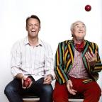 Harwich and Manningtree Standard: CATCH IT: Graeme Swann and Henry Blofeld are bringing the Great British Spin Off to Clacton's Princes Theatre.
