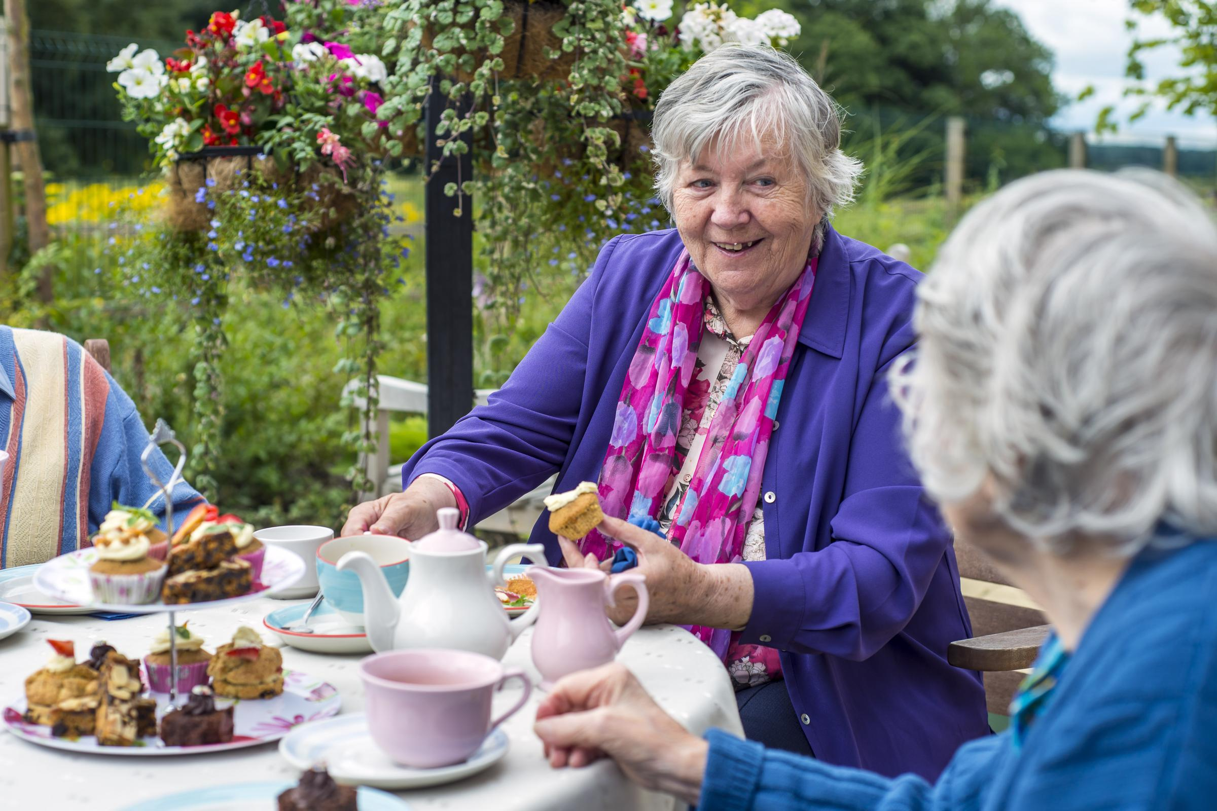 Have your cake and eat it at Thorrington care home