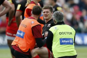 England wait on fitness of Owen Farrell and Dylan Hartley ahead of autumn games