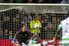 Moussa Dembele scored twice for Celtic in the six-goal thriller