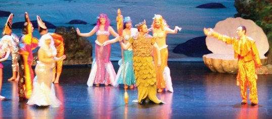 MAKING A SPLASH: The Little Mermaid promises half-term fun.