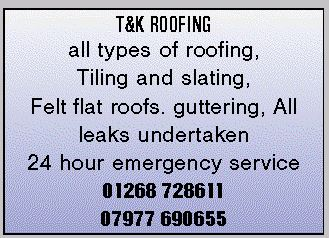 T & K Roofing
