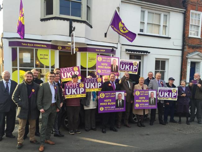 Resident worried UKIP shop's slogans will offend tourists