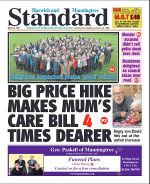 Harwich and Manningtree Standard: In this week's Harwich and Manningtree Standard.