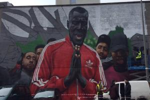 This incredible mural of Stormzy has just appeared in Dublin