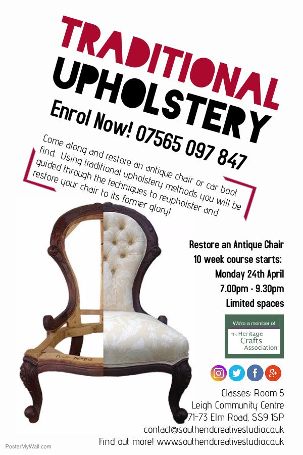 Traditional Upholstery Course
