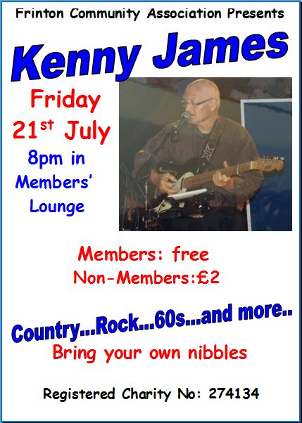 An evening with Kenny James