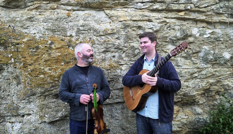Folk band - Graham Vincent and David Mitchell