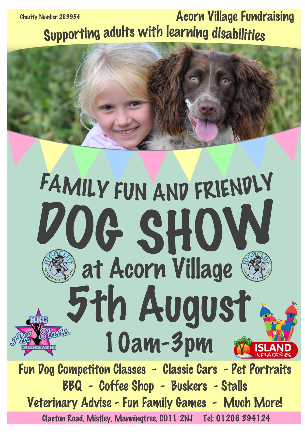 Family Fun & Friendly Dog Show with Classic Cars