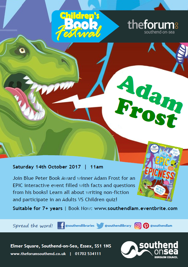 Children's Book Festival: Adam Frost