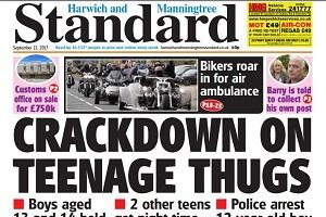 In this week's Harwich and Manningtree Standard.
