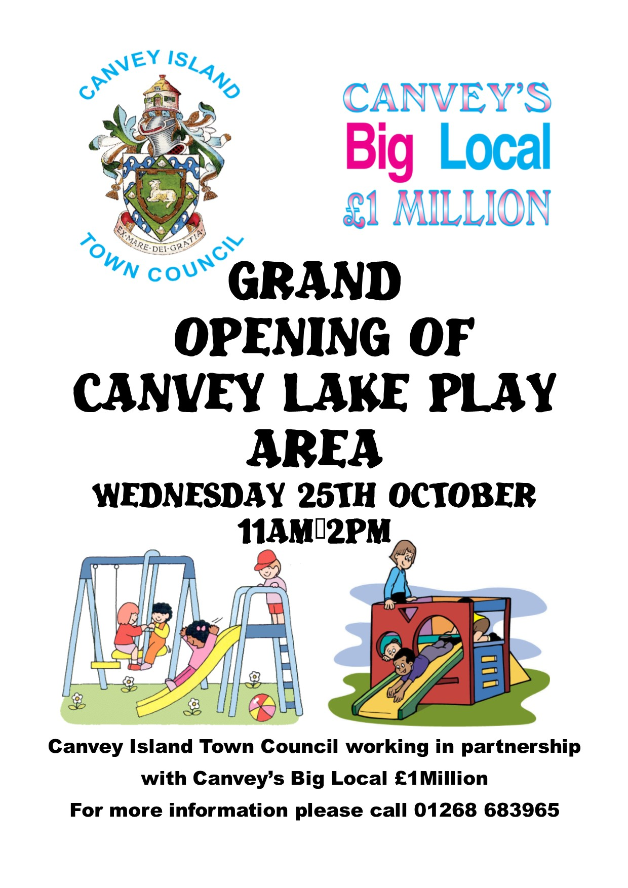 Canvey Lake Play Area Grand Opening