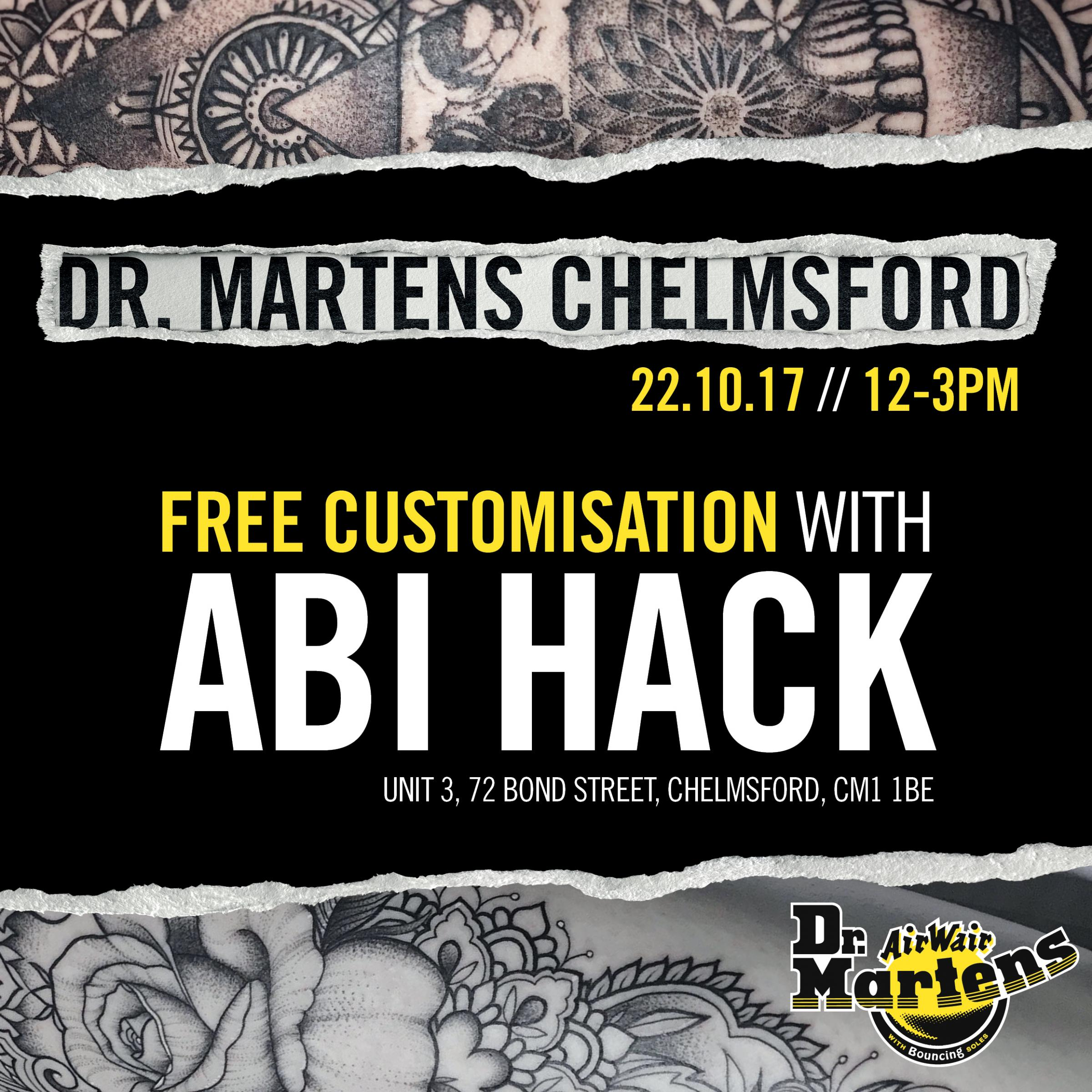 Dr Martens: Free Customisation with Abi Hack